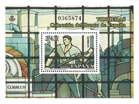 Spanien - Glasmosaik - Postfrisk miniark