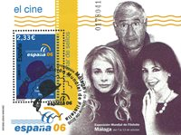 Spanien - Film - Stemplet miniark