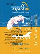 Spanien - España '06 - Stemplet miniark
