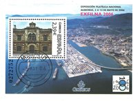 Spanien - Exfilna '06 - Stemplet miniark