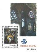 Spanien - Catedral de Avila - Postfrisk miniark