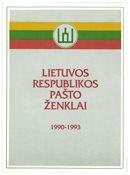 Litauen - Officiel årsmappe 1990-93 - Fin mappe fra postvæsenet fra starten til sept.1993. Michel værdi ¤ 60,-