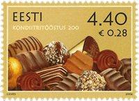 Estland - Konfekt - Postfrisk frimærke
