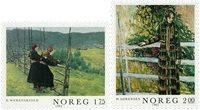 Norge - AFA 875-876 - Postfrisk