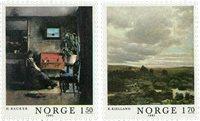 Norge - AFA 855-856 - Postfrisk