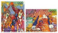 FN New York - Olympiske lege - Stemplet sæt 2v