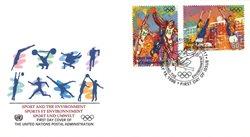 FN New York - Olympiske lege - FDC