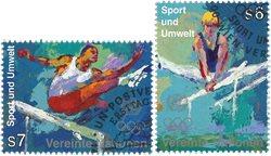 FN Wien - Olympiske lege - Stemplet sæt 2v