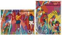 FN Geneve - Olympiske lege - Postfrisk sæt 2v