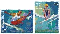 FN Wien - Olympiske lege - Postfrisk sæt 2vt