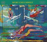 FN Wien 1996 - Olympiske lege - Postfrisk miniark