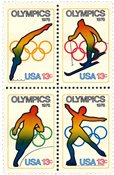 USA - OL Scott 1695-8 - Postfrisk sæt 4v