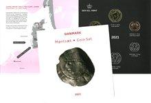 Danmark 2021 - Møntsæt