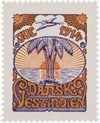 Tanskan Länsi-Intia - Joulu 1914 - Postituoreena