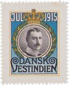 Tanskan Länsi-Intia - Joulu 1915 - Postituoreena