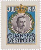 Tanskan Länsi-Intia - Joulu 1915 - Käyttämätön