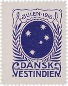 Tanskan Länsi-Intia - Joulu 1916 - Käyttämätön
