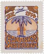 Tanskan Länsi-Intia - Joulu 1914 - Käyttämätön