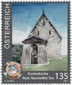 Itävalta - Kirkko - Postituoreena