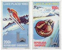 Gabon 1980 - YT PA226/27 - Postfrisk sæt