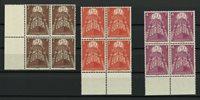 Luxembourg - 4-blokke AFA 568-570 - Postfrisk