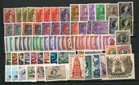 Luxembourg - Dublet samling på 1 indstikskort - Postfrisk