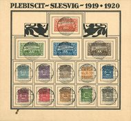 Slesvig 1919-1920 - AFA 15-28 - Stemplet