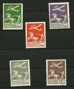 Danmark - AFA 144-146 og AFA 180-181 - Postfrisk