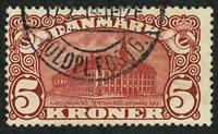 Danmark - 5 krone AFA 67x - Stemplet