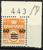 Færøerne - AFA 6A med marginal nr. - Postfrisk