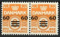 Færøerne - AFA 6B og 6By par - Postfrisk