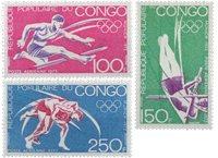Congo - YT PA 150-152 - Postfrisk