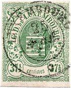 Luxemburg 1859 - Michel 10 - Stemplet