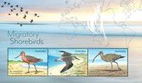 Australien - Kystens fugle - Postfrisk miniark