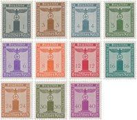 Duitse Rijk 1942 - Michel D155/165 - Postfris