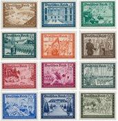 Tyske Rige - 1939 - MICHEL 702/713, Postfrisk
