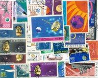 Rumfart/transport - 50 forskellige frimærker