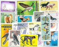 Dyr - 75 forskellige frimærker