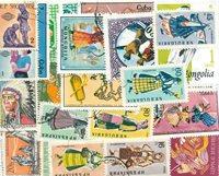Eventyr/musik - 55 forskellige frimærker