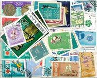 Sport - 225 forskellige frimærker