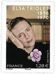Frankrig - Elsa Triolet - Postfrisk frimærke