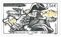 Fransk Andorra - Napoleon - Postfrisk frimærke