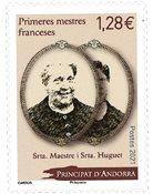 Fransk Andorra - Mademoiselle Huguet - Postfrisk frimærke