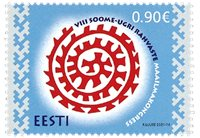 Estland - Finsk-Ugriske folkeslag - Postfrisk frimærke
