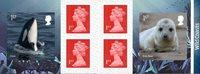 England - Kystens vilde dyreliv - Postfrisk frimærkehæfte