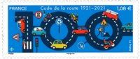 Frankrig - Vejnumre - Postfrisk frimærke