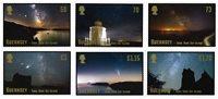 Guernsey - Øen Sark med uforstyrret nattehimmel - Postfrisk sæt 6v