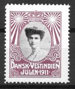 Danish West Indies - Christmas - Unused