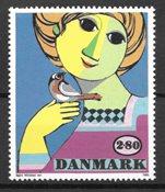 Tanska - AFA 849Y - Postiture