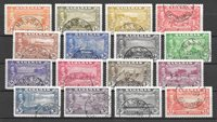 British Colonies 1948 - MICHEL 137-52 - Cancelled